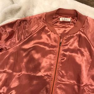 Jackets & Blazers - Rose Gold Bomber jacket